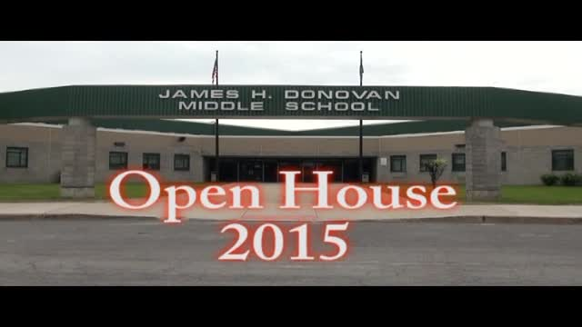 Donovan Open House