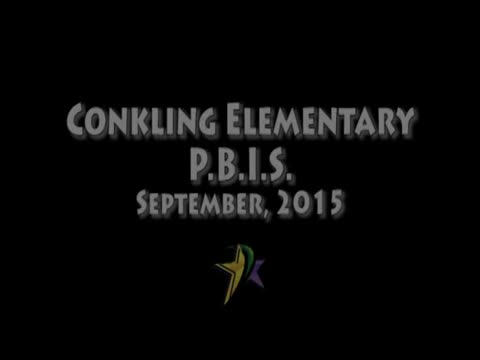 Conkling PBIS September