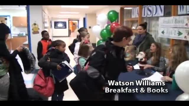 Watson Breakfast and Book