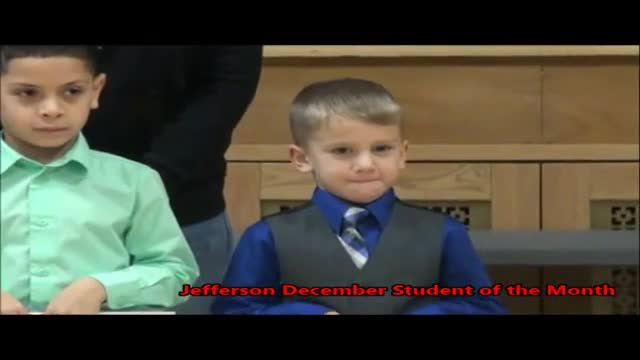 Jefferson Student of the Month December