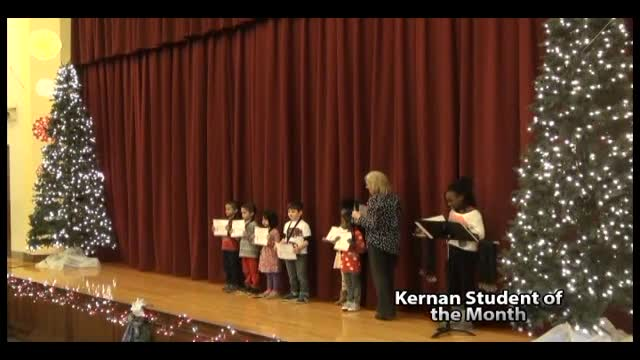 Kernan Student of the Month December