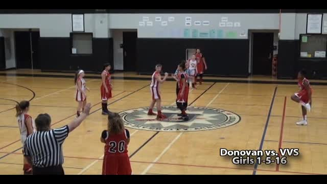 Donovan Girls Basketball vs. VVS