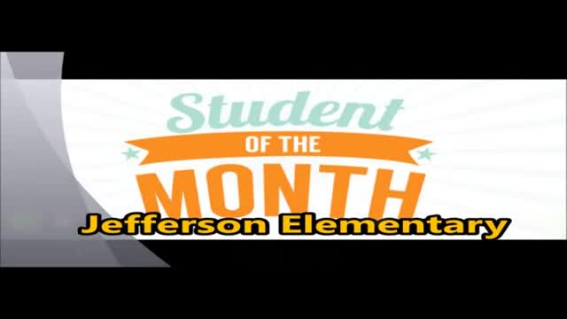 Jefferson Student of the Month April