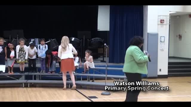Watson Williams Primary Spring Concert