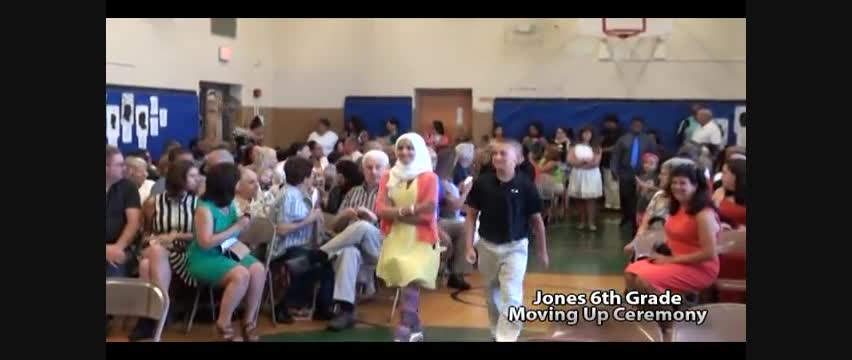 Jones 6th Grade Moving Up Ceremony