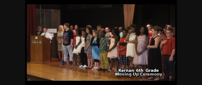 Kernan 6th Grade Moving Up