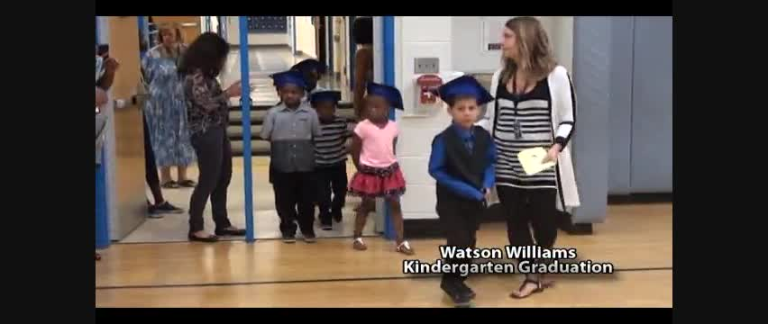 Watson Williams KG Moving Up Ceremony