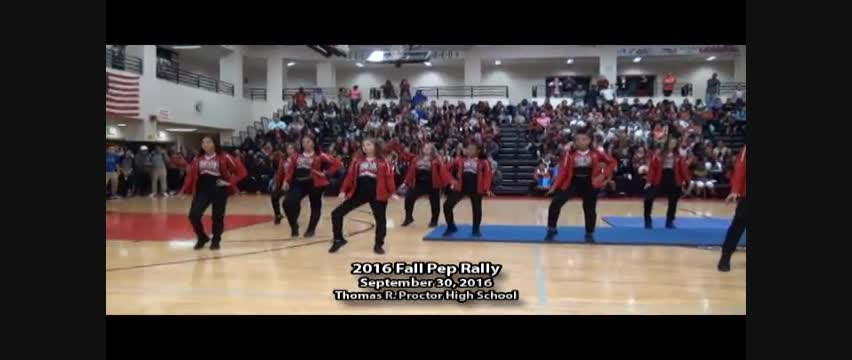 Proctor Pep Rally Fall 2016