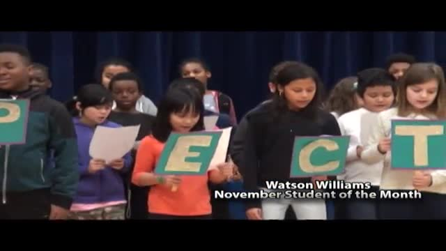 Watson Williams Student of the Month November